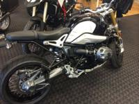 2015 BMW RnineT motorcycle in like new condition with