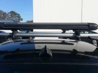 Original BMW base support system (roof rack) for E92