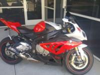 Selling 2012 BMW s1000rr new Michelin tires, chain and