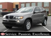 2004 BMW X5 3.0. Certified Clean Carfax Report * Non