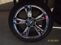 These are like brand new BMW 2007 Z4 Wheels and