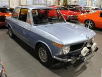 This 1973 BMW 2002 Tii is a fully restored classic