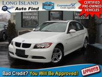 WOW! TAKE A LOOK AT THIS ALPINE WHITE 2008 BMW 328XI