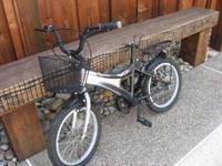 Young persons BMX Bike, The Urata has a lot of fun