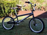 "Up for sale is one of my Premiere 20"" BMX Race bikes."