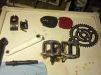 Various Bmx and mountain bike parts. Call me at  or