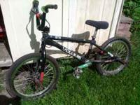 I am selling my BMX Bicycle. I have over $1000 worth of