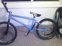 I got a BMX bike really don't know what kind of frame