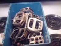 i have nine sets of used bmx metal pedals sets-!/2""