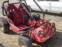 BMX Dune Buggy 150cc, newly upholstered seats, runs