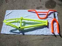 Hi, I am selling a Specialized Fuse BMX frame with an