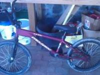BMX free agent air strike series in great condition. A