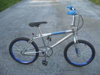 "20""BMX. nice chrome frame, only identification is the"