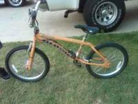 My son is selling his mosh racing bike to upgrade. It