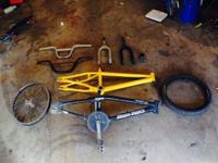 I have bmx parts for sale. No trades need some money