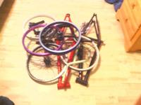I have plenty of bmx parts and frames for sale also