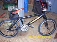 This is a BMX RACE bicycle!!! Meant for the ABA or the