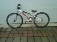 "Redline, Proline-mini, 20"" BMX race bike,weighs 17 lbs."