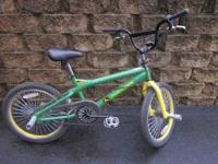 "20"" BMX style bike. Excellent condition. John Deere"