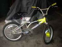 TWO BMX STYLE BOYS BIKES IN VERY GOOD SHAPE. BOYS