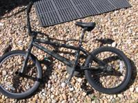 Up for sale is a BMX home customized bike with Cane