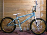 Custom built BMX bicycle - all top quality parts used