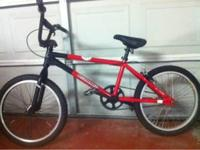 Great condition (red) Redline bike. New street tires.
