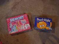 My Little Pony Memory Game - $5 Feed the Kitty - $5