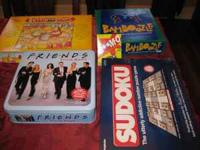 I have a bunch of board games for sale.Friends trivia,