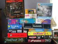 Great for family game night! We have 13 games and 4