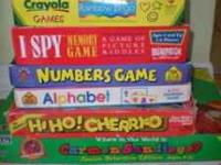 Hi, I am selling a big lot of board games, etc. for