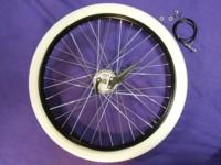 BOARD TRACK BICYCLE RIM BLACK 26 X 2.125 STEEL.
