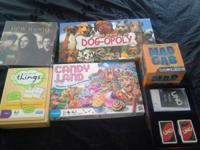 Great games to have for game nights . If interested