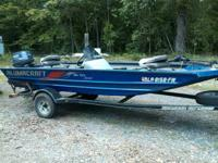 2010 Alumacraft Mv TEX Special which is a 16 footer