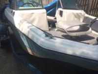 Sportcraft fish/ski 115 hp Johnson  Trolling motor