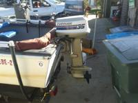12ft Dalphon!! 35hp Evinrude!! Fish Finder!! 50 Pound