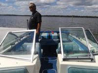 1984  17ft  Imperial  Fiberglass `Open M Boat  v175 96