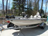 2005 Crestliner CMV 1850 with a 2005 Suzuki 140 Four