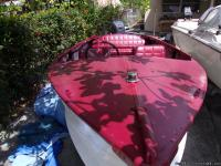 1960 14`aluminium boat with split tongue trailer for