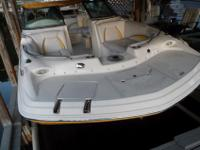 2008 Hurricane 195 Sundeck Powered with a Yamaha 115 HP