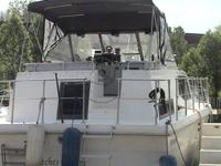 1986 Trojan 36' Tri'-cabin 350 Chev motors with low