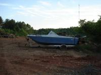 Boat and Trailer. Have two. $500, each, or make offer.