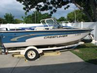 Boat For Rent: 16' Crestliner Great for fishing or