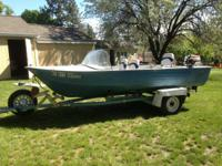 1977 Mirrocraft aluminum boat 16-17 foot, unsure on