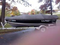 FOR SALE****** 14' Rebel Lund Fishing Boat w/ 25 HP