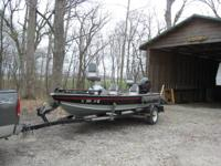 For Sale: 1997 Lund 17.5 ft. Bass Adventure aluminum