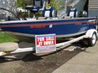 2001 Princecraft 162BT complete fishing package Low