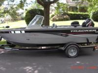 Tracker 18 ft Targa. Fully loaded with lawerance fish