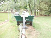 Needs a little TLC. A new trolling motor comes with it,