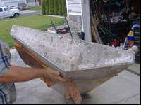 $100 / obo - Approximate 50 gallon belly gas tank for